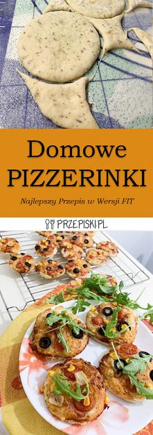 Domowe Pizzerinki – Pyszny ...