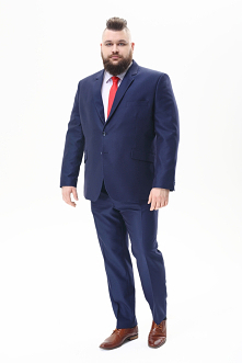 Duże garnitury męskie, nie ...