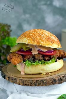 #Burgery z kurczakiem#lunch