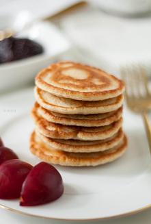 Pancakes fit z płatkami ows...