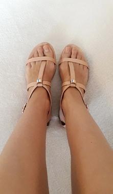 Sandały 100% skóra naturaln...