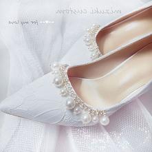 Eleganckie Białe Ślub Z Kor...