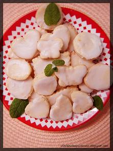 Ciasteczka cytrynowe z lukrem