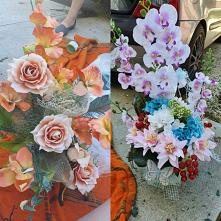 #przed i #po #kwiaty #sztuc...