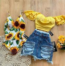 letnia stylizacja   #styl #...