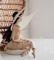 #Anioł #boho #indianka