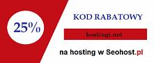 Kod rabatowy na hosting w s...