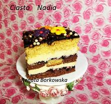 Ciasto   Nadia   z masą  budyniową  .