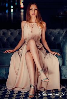 Długa sukienka dla druhny z...
