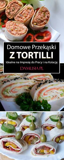 Domowe Przekąski z Tortilli – Idealne na Imprezę do Pracy i na Kolację #przepisy #pomysły