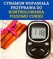 Cynamon na cukrzycę: wspani...