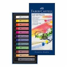 Pastele miękkie Faber-Castell STUDIO QUALITY - 12 kolorów