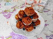 Muffinki owsiano – migdałow...