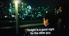 """""""Tonight is a good night for the other guy, not me, to die.""""                                  - What we do in the shadows(s01.e03)"""