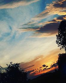#słońce#zachód słońca#