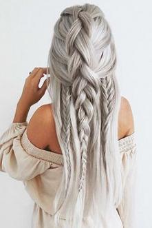 #white #hair