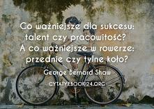 Co ważniejsze dla sukcesu: ...