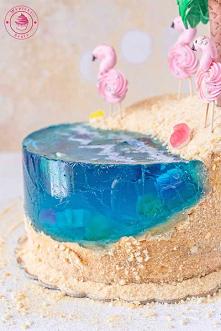 Tort rajska plaża - Najlepsze przepisy | Blog kulinarny - Wypieki Beaty