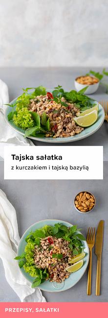 Przepis na tajską sałatkę z...