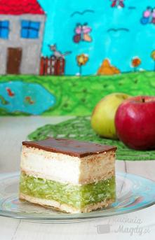 """#Ciasto """"Zielone jabłuszko""""..."""