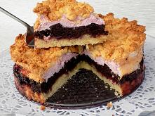 Pyszne ciasto warstwowe syp...