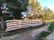 nowy płot #drewno #plot # z...