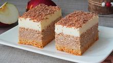 Ciasto migdałowy jabłecznik...