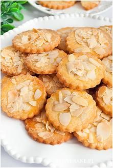 Kruche ciasteczka z migdałami