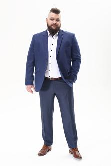 Modna odzież dla puszystych mężczyzn na wesele i inne specjalne okazje, kiedy mężczyzna powinien wyglądać elegancko - dostępna w XXLMEN