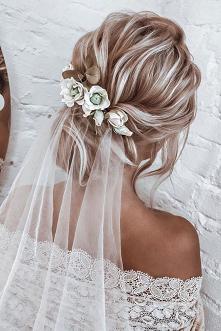 ... #pannamloda #ślub #fryzura