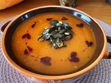 Kremowa zupa dyniowa z doda...