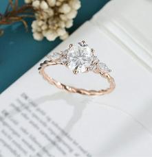 pierścień zaręczynowy #pięk...