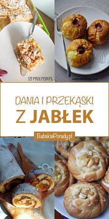 Dania i przekąski z jabłek:...