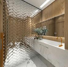 #łazienka #lustrzanekafle