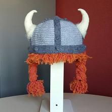 Czapka dla dużego Vikinga. ...