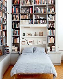 biblioteka / sypialnia #ksi...