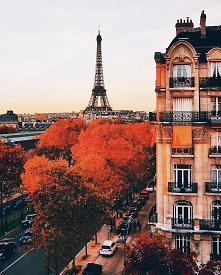 jesień w Paryżu :)