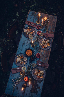 #jesień#stół#