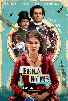 W dniu swych szesnastych urodzin Enola Holmes odkrywa, że jej matka zniknęła. Nastolatka trafia pod opiekę swoich starszych braci: Sherlocka i Mycrofta.  Link do strony: filmowo...
