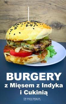 Burgery z Mięsem z Indyka i...