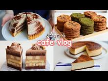 Cafe Vlog - desery, ciasta, tort z bananami (inspiracja;)