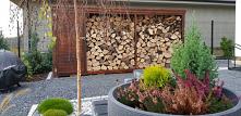 #ogród  #drewutnia