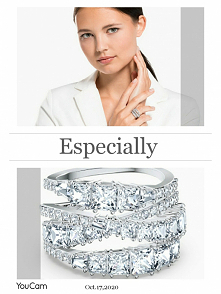 Idealny pierścionek pasuje do stylizacji na wieczór jaki i do eleganckiej stylizacji na co dzień. Doskonały pomysł na prezent, a Wy co myślicie? #moda #prezent #inspiracje
