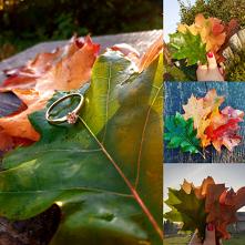 #jesień#liscie#pierscionek#