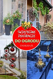 Świąteczne Dekoracje do Ogr...