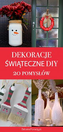 Dekoracje świąteczne DIY: 2...