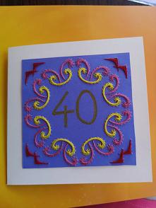 Kartka urodzinowa #kartka #...