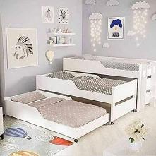 Dla trójki #łóżko #dzieci #...