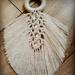 Makrame feathers naturals #makrama #makramefeathers