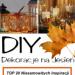 Jesienne Dekoracje do Domu – TOP 20 Niesamowitych Inspiracji na DIY #Dekoracje na #Jesień